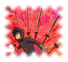 seraph of the end Bladestorm Photographic Print