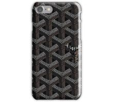 Goyard case iPhone Case/Skin