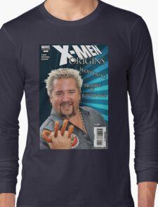 Guy Fieri/ Wolverine Mash up Long Sleeve T-Shirt