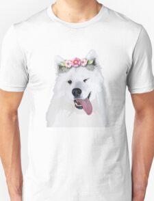 Pretty Samoyed Dog Unisex T-Shirt