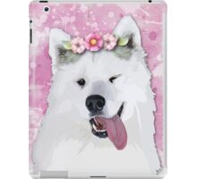 Pretty Samoyed Dog iPad Case/Skin