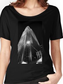30 Rock At Night Women's Relaxed Fit T-Shirt