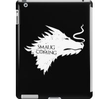 The Desolation Of Smaug - Smaug is Coming iPad Case/Skin