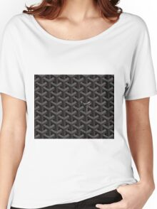 Goyard case black Women's Relaxed Fit T-Shirt