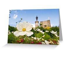 Castle Garden Greeting Card