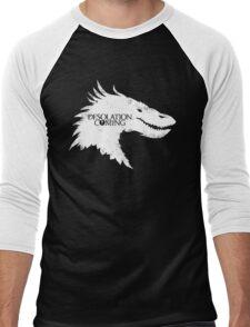 The Desolation Of Smaug - Smaug is Coming Men's Baseball ¾ T-Shirt
