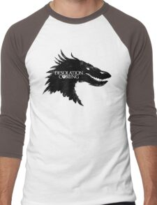 The Desolation Of Smaug - Smaug is Coming Men's Baseball ¾ T-Shirt
