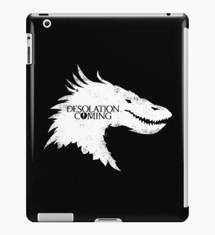 The Desolation Of Smaug - Smaug is Coming iPad Case/Skin