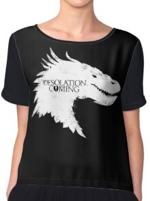 The Desolation Of Smaug - Smaug is Coming Chiffon Top