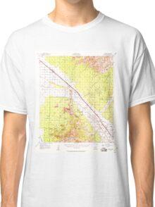 USGS TOPO Map Arizona AZ Cortaro 314518 1957 62500 Classic T-Shirt