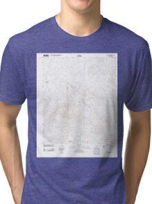 USGS TOPO Map Arizona AZ Owl Head 20111025 TM Tri-blend T-Shirt