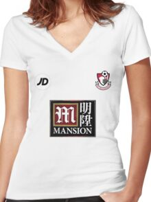 A.F.C. Bournemouth Women's Fitted V-Neck T-Shirt