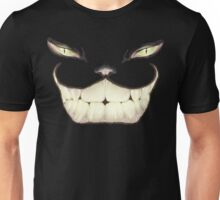 Cheshire cat, Just the smile, Wonderland Unisex T-Shirt