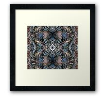 Blue Rocks Framed Print