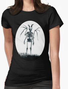 The Jersey Devil Is My Friend Womens Fitted T-Shirt