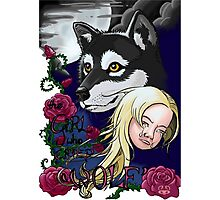 The Girl Who Cried 'Wolf' Photographic Print