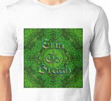 Erin Go Bragh Celtic Foliage Cross Unisex T-Shirt
