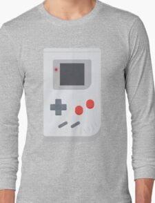 Retro Gameboy style graphic Long Sleeve T-Shirt