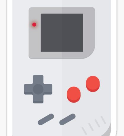 Retro Gameboy style graphic Sticker