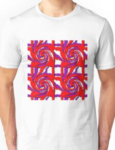 Swirl Pattern in Layers Unisex T-Shirt