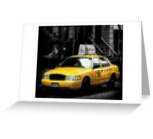 "Pixels Print ""NYC TAXI"" Greeting Card"
