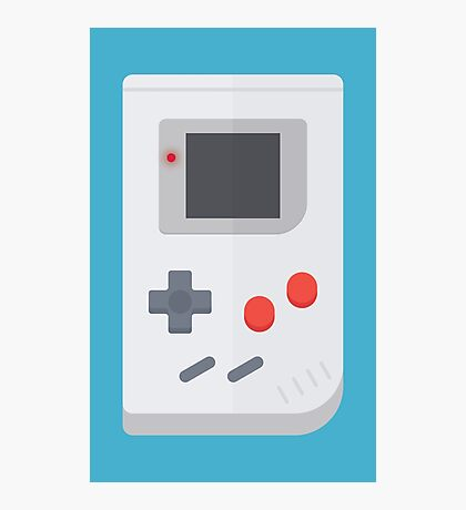 Retro Gameboy style graphic Photographic Print