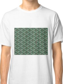 Goyard case green Classic T-Shirt