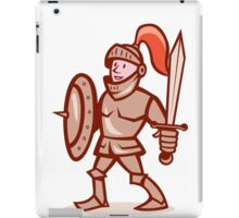 Knight Shield Sword Cartoon iPad Case/Skin