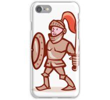 Knight Shield Sword Cartoon iPhone Case/Skin