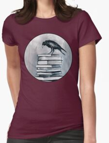 I Don't Read As Much As I'd Love To Anymore Womens Fitted T-Shirt