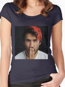 Markiplier - Shh.. Part 2 Women's Fitted Scoop T-Shirt