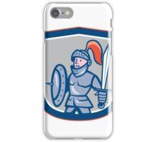 Knight Shield Sword Shield Cartoon iPhone Case/Skin