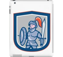 Knight Shield Sword Shield Cartoon iPad Case/Skin