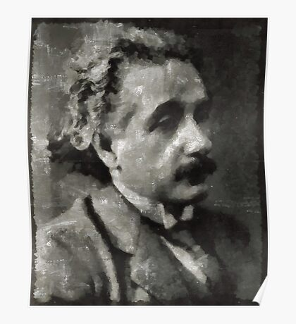 Albert Einstein Famous Scientist Poster