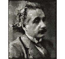 Albert Einstein Famous Scientist Photographic Print