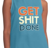 Get Shit Done Contrast Tank