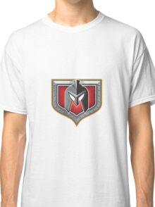 Spartan Helmet Shield Retro Classic T-Shirt