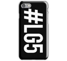 #LG5 Black iPhone Case/Skin