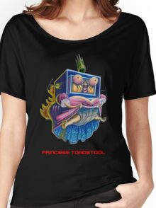 Princess Toadstool - Super Mario bros 2 Nintendo Women's Relaxed Fit T-Shirt