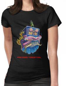 Princess Toadstool - Super Mario bros 2 Nintendo Womens Fitted T-Shirt