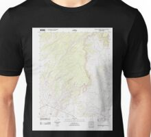 USGS TOPO Map Arizona AZ Big Willow Spring Canyon 20111028 TM Unisex T-Shirt