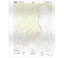 USGS TOPO Map Arizona AZ Big Willow Spring Canyon 20111028 TM Poster