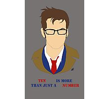 Ten Is More Than A Number Photographic Print