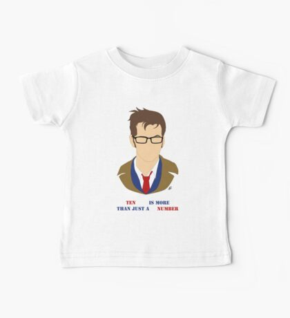 Ten Is More Than A Number Baby Tee