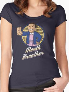 Mouth Breather Women's Fitted Scoop T-Shirt