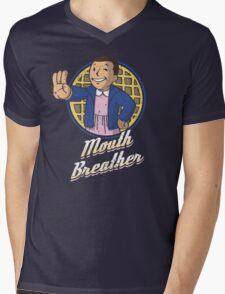 Mouth Breather Mens V-Neck T-Shirt