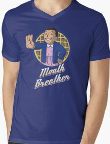 Mouth Breather Mens V-Neck T-Shirt