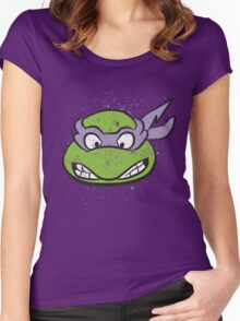 TMNT Donatello Women's Fitted Scoop T-Shirt
