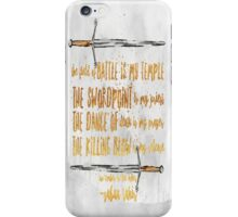 an ember in the ashes iPhone Case/Skin