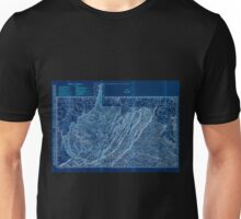 0180 Railroad Maps Indexed county and railroad pocket map and shippers guide of West Virginia accompanied by a new and original compilation and ready reference index showing Inverted Unisex T-Shirt